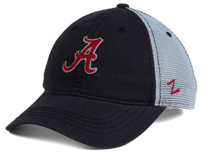 Alabama Crimson Tide Zephyr NCAA Smokescreen Adjustable Cap