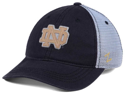 Notre Dame Fighting Irish Zephyr NCAA Smokescreen Adjustable Cap