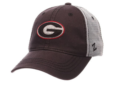 Georgia Bulldogs Zephyr Smokescreen Adjustable Hat