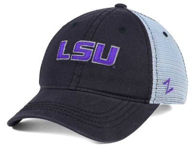 LSU Tigers Zephyr NCAA Smokescreen Adjustable Cap