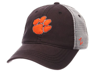 Clemson Tigers Zephyr Smokescreen Adjustable Hat