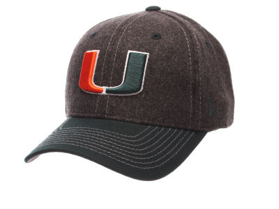 Miami Hurricanes Zephyr NCAA Anchorage Adjustable Cap