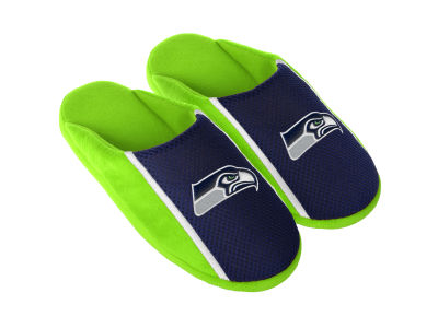 Seattle Seahawks Jersey Youth Slide Slippers