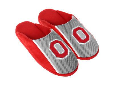Ohio State Buckeyes Jersey Youth Slide Slippers