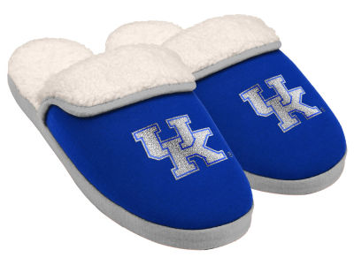 Kentucky Wildcats Women's Glitter Patch Slippers