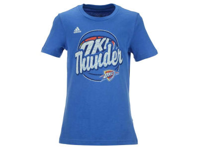 Oklahoma City Thunder NBA Girls Youth Logo Ball T-Shirt