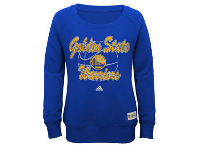 Golden State Warriors NBA Youth Girls Everywear Pullover