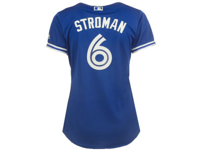 Toronto Blue Jays Marcus Stroman Majestic MLB Women's Cool Base Player Replica Jersey