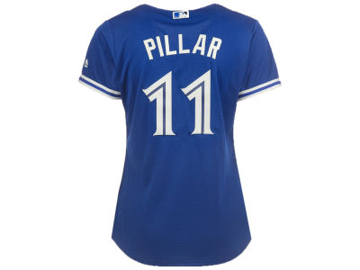 Toronto Blue Jays Kevin Pillar Majestic MLB Women's Cool Base Player Replica Jersey