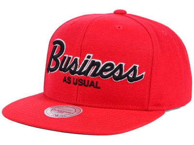 Business As Usual Script Outline Snapback Hat