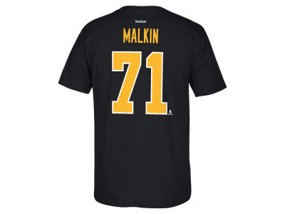 Pittsburgh Penguins Evgeni Malkin Reebok NHL Men's Player T-Shirt