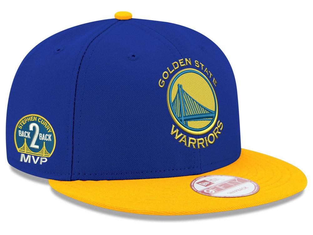 40728f6f0e7 Golden State Warriors New Era NBA Stephen Curry MVP 9FIFTY Snapback Cap