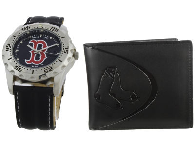 Boston Red Sox Watch and Wallet Set