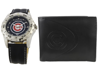 Chicago Cubs Watch and Wallet Set