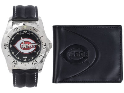 Cincinnati Reds Watch and Wallet Set