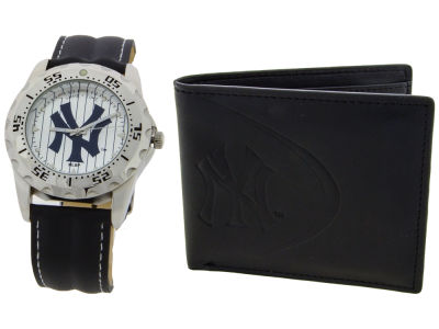 New York Yankees Watch and Wallet Set