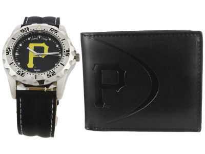 Pittsburgh Pirates Watch and Wallet Set