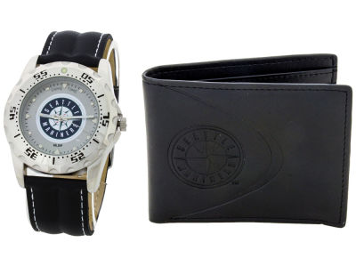Seattle Mariners Watch and Wallet Set
