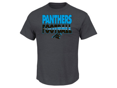 Carolina Panthers NFL Men's Cover 3 Triple Peak T-Shirt