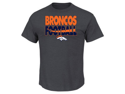 Denver Broncos NFL Men's Cover 3 Triple Peak T-Shirt