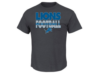 Detroit Lions NFL Men's Cover 3 Triple Peak T-Shirt