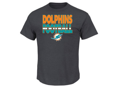 Miami Dolphins NFL Men's Cover 3 Triple Peak T-Shirt