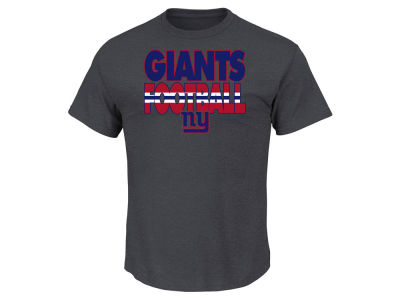 New York Giants NFL Men's Cover 3 Triple Peak T-Shirt