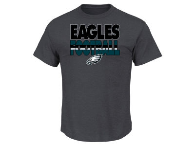 Philadelphia Eagles NFL Men's Cover 3 Triple Peak T-Shirt
