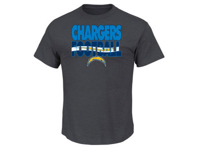 San Diego Chargers NFL Men's Cover 3 Triple Peak T-Shirt