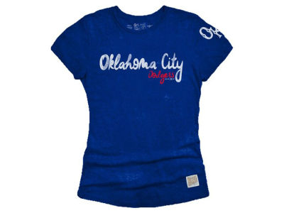 Oklahoma City Dodgers MiLB Women's Streaky Tri-Blend T-Shirt