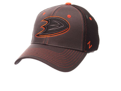 Anaheim Ducks Zephyr NHL Blacklight Flex Hat
