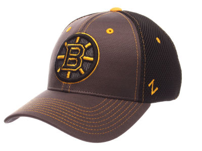 Boston Bruins Zephyr NHL Blacklight Flex Cap