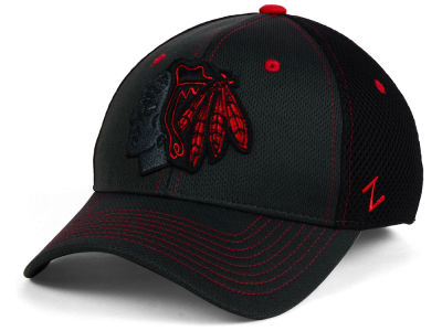 Chicago Blackhawks Zephyr NHL Blacklight Flex Cap