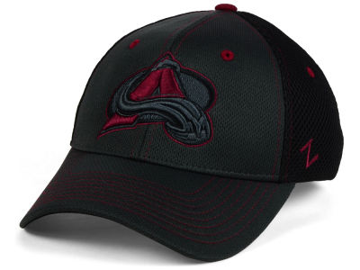 Colorado Avalanche Zephyr NHL Blacklight Flex Hat
