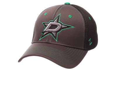 Dallas Stars Zephyr NHL Blacklight Flex Hat