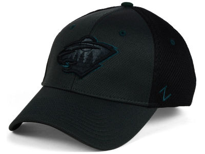 Minnesota Wild Zephyr NHL Blacklight Flex Cap