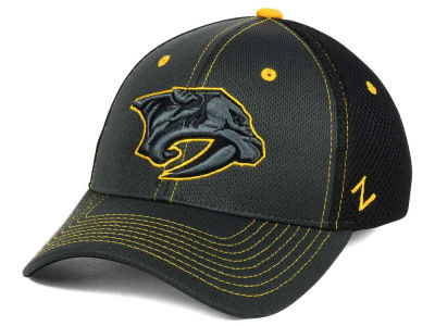 Nashville Predators Zephyr NHL Blacklight Flex Hat