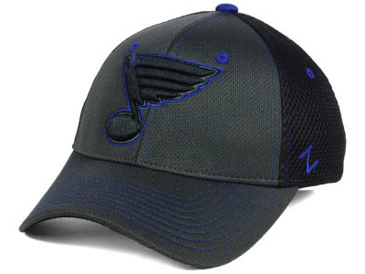 St. Louis Blues Zephyr NHL Blacklight Flex Hat