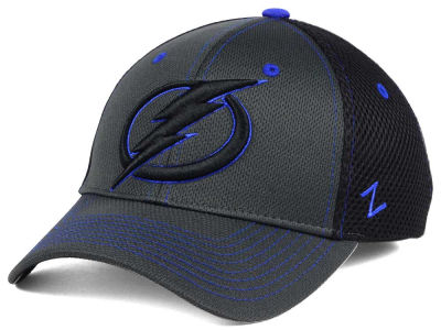 Tampa Bay Lightning Zephyr NHL Blacklight Flex Hat