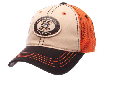 Anaheim Ducks Zephyr NHL Roader Mesh Cap
