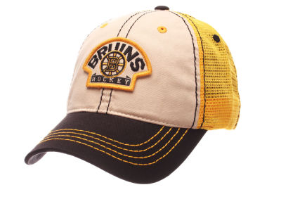 Boston Bruins Zephyr NHL Roader Mesh Cap