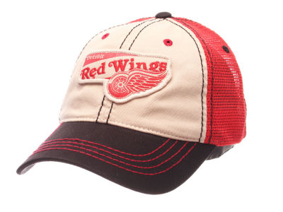 Detroit Red Wings Zephyr NHL Roader Mesh Cap