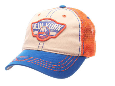 New York Islanders Zephyr NHL Roader Mesh Cap