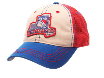 New York Rangers Zephyr NHL Roader Mesh Cap