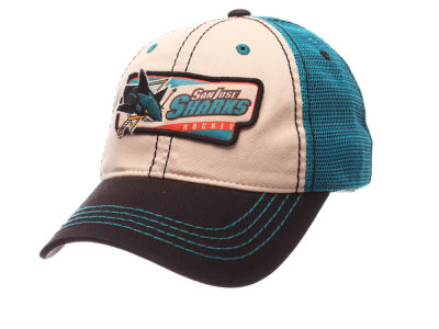 San Jose Sharks Zephyr NHL Roader Mesh Cap