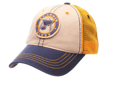 St. Louis Blues Zephyr NHL Roader Mesh Cap