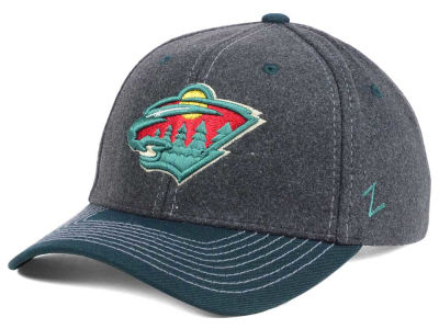 Minnesota Wild Zephyr NHL Anchorage Adjustable Cap