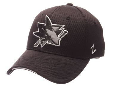 San Jose Sharks Zephyr NHL Synergy Flex Cap