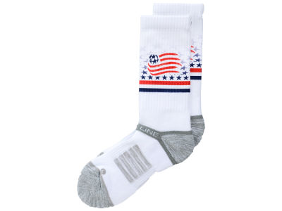 New England Revolution MLS Strideline Crew Socks