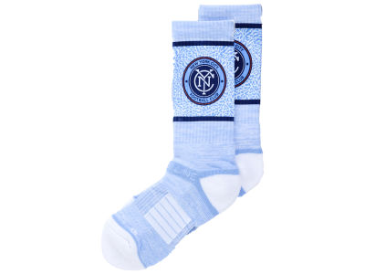 New York City FC MLS Strideline Crew Socks